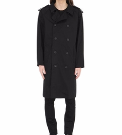 Boy London  - Techno Gabardine Trench Coat