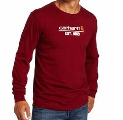 Carhartt - Classic Logo Long Sleeve T-Shirt