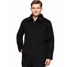 Calvin Klein - Wool-Blend Car Coat