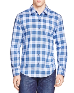 Hugo Boss - Robbie Plaid Button Down Shirt