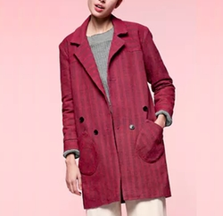 Loup - Red Slims Coat
