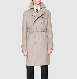 Gucci - Cotton Poly Twill Trench Coat