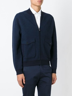 Z Zegna - Zipped Bomber Jacket