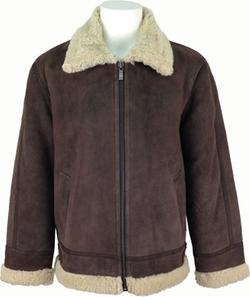 Unicorn London - Sheepskin Flying Jacket Aviator Leather Coat