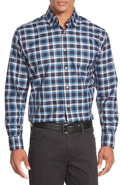 Robert Talbott - Anderson Classic Fit Plaid Sport Shirt