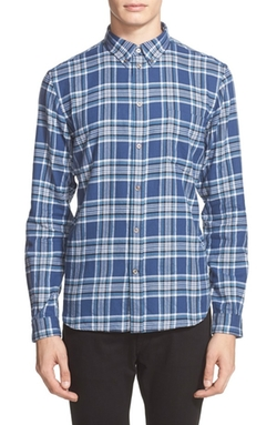 Paul Smith Jeans  - Trim Fit Plaid Flannel Shirt