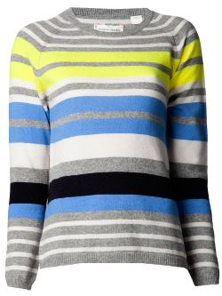 CHINTI AND PARKER  - cashmere striped sweater