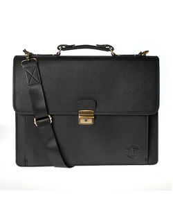 Hero - Mckinley Animal-Free Leather Briefcase
