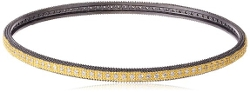 Freida Rothman - Reverse Eternity Two Tone Bangle