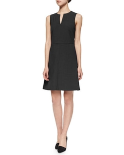 Theory - Miyani Split-Neck Suit Dress