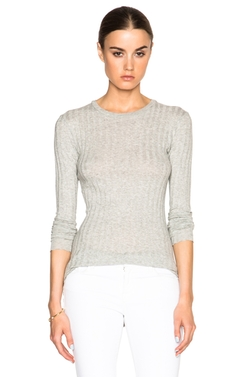 Enza Costa  - Cashmere Slim Crew Top