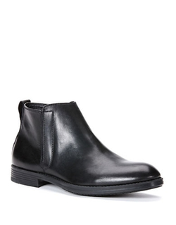 Calvin Klein - Hartley Leather Ankle Boots