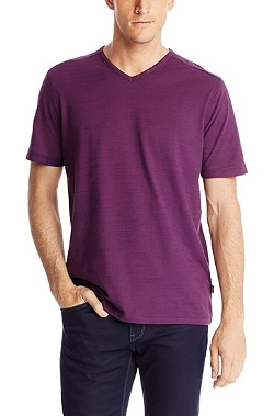 Hugo Boss Hugo - Pima Cotton V-Neck T-Shirt
