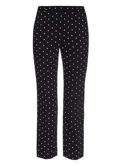 Givenchy  - Cross-Print Cady Trousers
