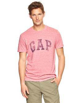 Gap - Tri-Blend Arch Logo T-Shirt