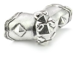 Low Luv by Erin Wasson  - Sterling Silver-Plated Armor Knuckle Ring