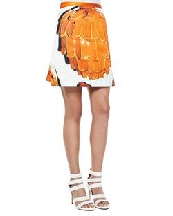 Risto - Doppio Printed A-Line Skirt