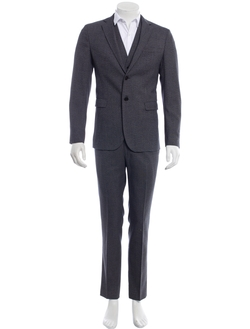 Dolce & Gabbana - Checkered Print Three Piece Suit
