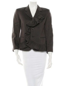 Marc Jacobs - Ruffle Trim Blazer