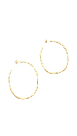 Gorjana Laurel  - Large Hoop Earrings