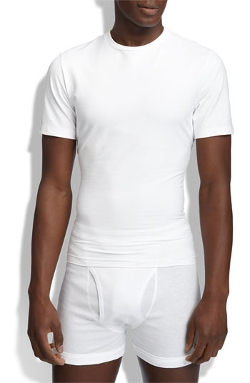 Spanx - Crewneck Cotton Compression T-Shirt