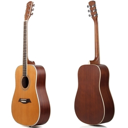 Hola! Music - Deluxe Dreadnought Acoustic Guitar