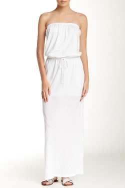 C & C California - Strapless Jersey Maxi Dress