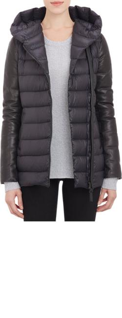 Mackage  - Leather-trim Puffer Jacket