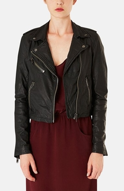 Topshop Boutique - Leather Moto Jacket