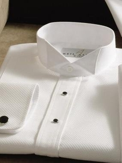 Neil Allyn - Wing Collar Tuxedo Shirt