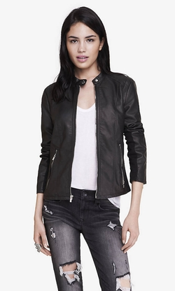 Express - Double Peplum Minus The Leather Jacket