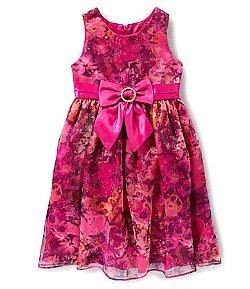 Jayne Copeland  - Sheer-Overlay Printed Dress