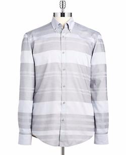Hugo Boss  - Rod O Striped Sportshirt