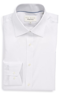 Ted Baker London - Trim Fit Micro Stripe Dress Shirt