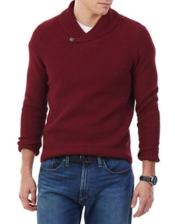 Michael Kors - Shawl Collar Pullover Sweater