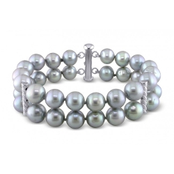 Ice - Freshwater Cultured Pearl Bracelet