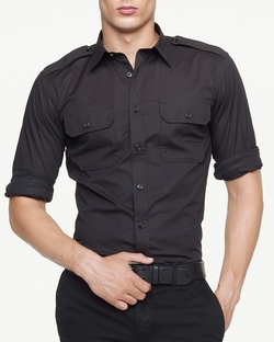 Ralph Lauren - Military Stretch Poplin Shirt