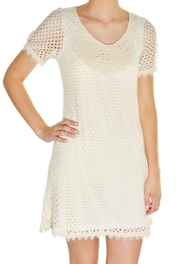 Banana Usa - Eyelet Micro Mod Dress