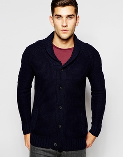 Selected Homme - Shawl Collar Cardigan Sweater
