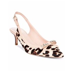 Kate Spade New York - Palina Animal-Print Slingback Pumps