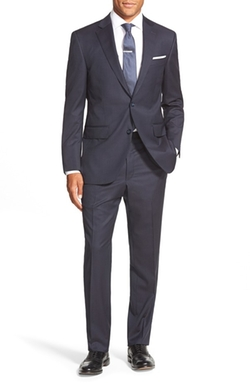 Peter Millar  - Classic Fit Stripe Wool Suit