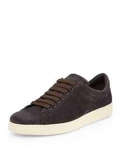 Tom Ford  - Russel Suede Low Top Sneaker