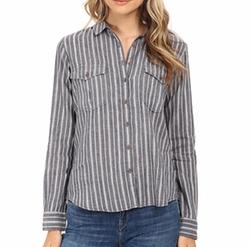 Maison Scotch - Cotton Linen Safari Inspired Shirt