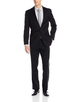 Kenneth Cole Reaction - Tonal Stripe 2 Button Peak Lapel Suit