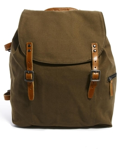 Asos - Royal RepubliQ Legioner Mine Canvas Backpack