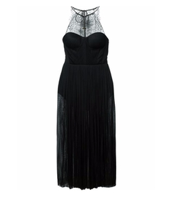 Maria Lucia Hohan - Lace Detail Pleated Dress