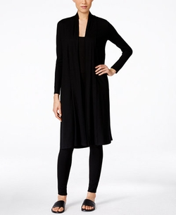 Eileen Fisher - Open-Front Duster Cardigan