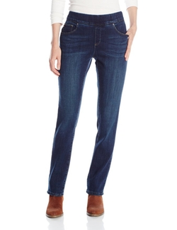 Lee  - Natural Fit Pull On Evelyn Straight Leg Jeans