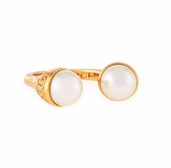 Tory Burch - Pearly Bud Ring