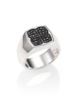 Stephen Webster  - Pave Signet Ring